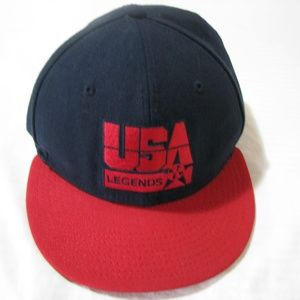 Vintage Nike True USA Legends Snap-Back Hat, OSFA